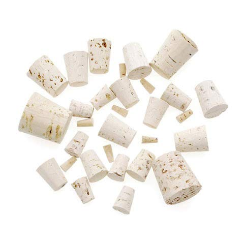 Darice Assorted Corks 30pc – Perfect for Cork Craft Projects Like Wreaths Decorations Ornaments – Use for Plugging Bottles – Includes Eight Cork Sizes #0#14
