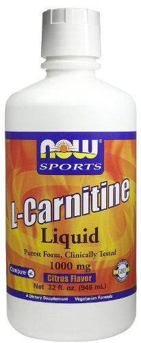 Now Foods L-Carnitine 1000 mg Liquid - 32 oz. 3 Pack