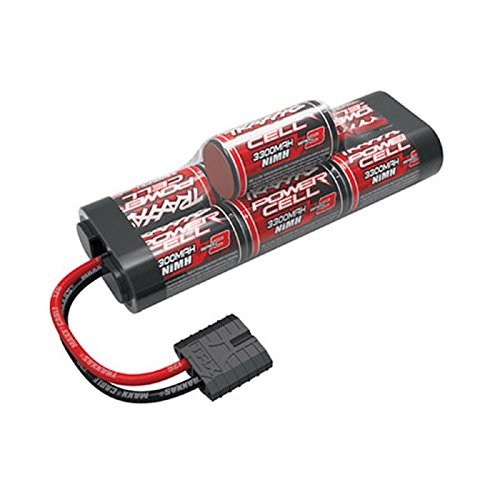 - Traxxas 8.4V 3300mAh 7-Cell Hump NiMH Battery, TRA2941X