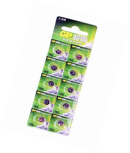 GP 192F-2C10 - Pilas de botón alcalinas (10 unidades): Amazon.es: Electrónica