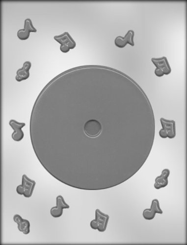 CK Products 4-5/8-Inch CD Chocolate Mold ()
