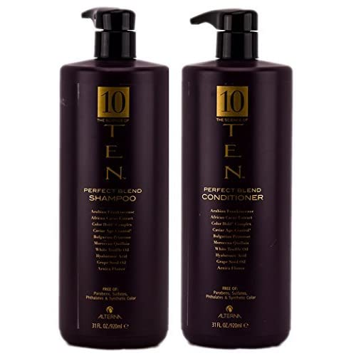Image of Alterna The Science of Ten Perfect Blend Shampoo & Conditioner DUO (31 Oz each) Health and Household