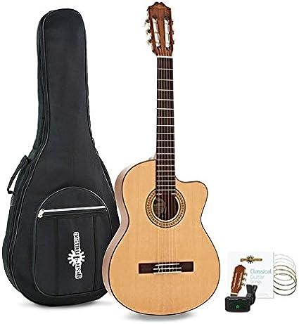 Pack de Guitarra Clasica Deluxe Single Cutaway de Gear4music