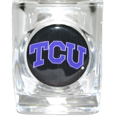 Great American Products Tcu Horned Frogs Shot Glass - Square 2oz