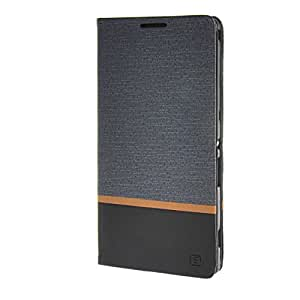 MOONCASE Case for Sony Xperia T2 Ultra Wallet Flip Card Slot Bracket Back Leather Case Cover Grey