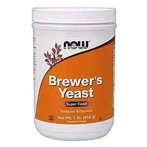 NOW Brewer's Yeast Debittered, 1-Pound