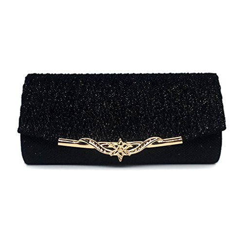 Gold Chain Clutches Bag Party Wedding Handbag Women Glitter Shoulder Evening For Bag Women Bag Banquet Girls 7ywZ6qv