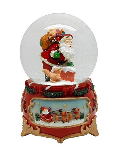 Lightahead PolyResin Rotating Decoration Christmas