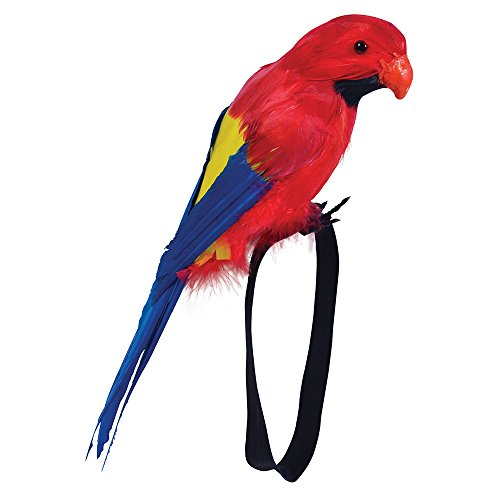 Bristol Novelty BA351 Feather Wrist Parrot, One -