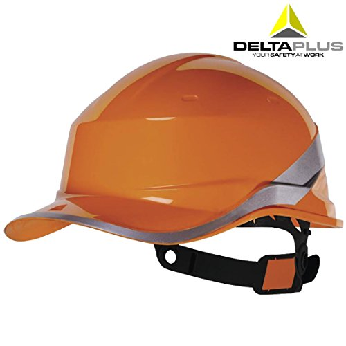 iamond V Baseball Cap Style Safety Helmet Hard Hat Orange (Hard Womens Cap)