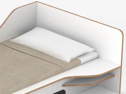 Einzelbett mit bettkasten 100x200  PLANE - das Einzelbett von Felix Stark, Maße:100x200;Bettkasten ...