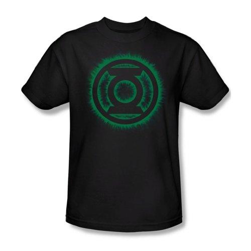 Green Lantern - Green Flame Logo T-Shirt Size M