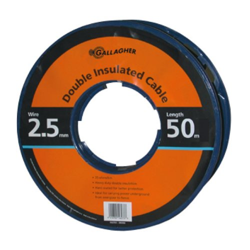 Gallagher G627034 Electric Fence 12.5-Gauge Heavy Duty Underground Cable, - Electric Fence Wire Ground