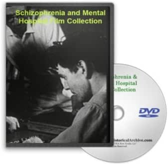 Vintage Schizophrenia and Mental Hospital DVD - Historical Footage of Mental Hospital Conditions and Treatments for Patients