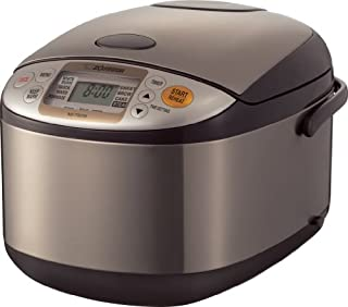 Zojirushi NS-TSC18 Micom Rice Cooker and Warmer, 10 cups, Uncooked, Stainless Brown (B006W22KF8) | Amazon Products