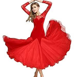 Falda de Baile Moderno para Adultos, Vestido de salón de Baile ...