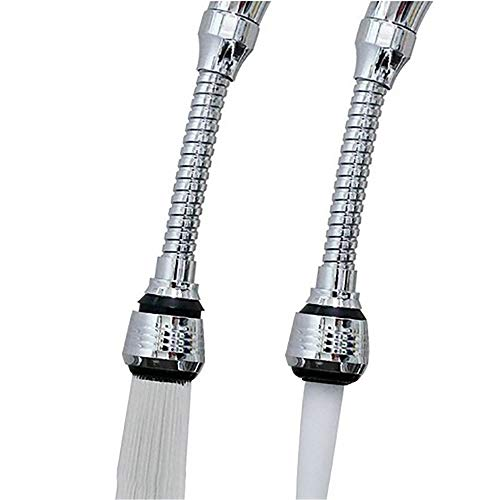 MSOO Newcomdigi Flexible Faucet Sprayer Turbo Flex 360 Sink Faucet Sprayer Jet Stream