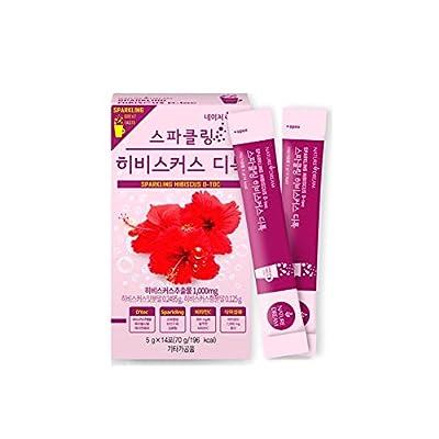 NatureDream Hibiscus Sparkling Detox & Diet Vibrant Cleanse Pack of 2, 28 Servings