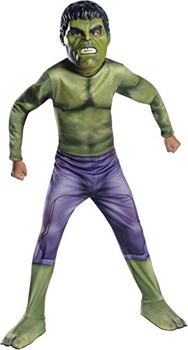 Cute Superhero Group Costumes (Rubie's Costume Avengers 2 Age of Ultron Child's Hulk Costume, Large)