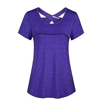 Psanfeng Camisetas y Camisetas Camiseta de Manga Corta para ...