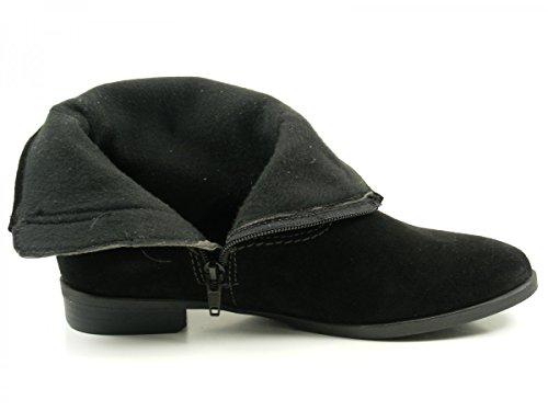 Tamaris25005 - Botines Mujer Schwarz (Black)