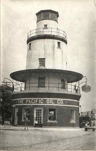 The Pacific Oil Co. Lighthouse Lighthouses Original Vintage Postcard ()