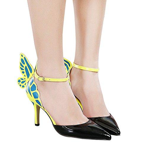 JOJO cat - Zapatos de vestir para mujer Negro - negro