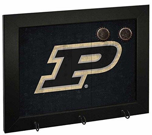 Letter Art Purdue Boilermakers NCAA Magnetic Hook Board - Team Color,