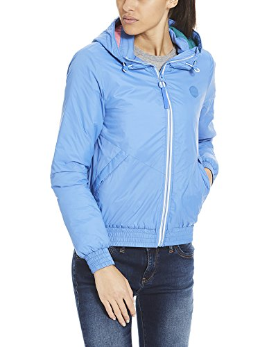 Padded palace Donna Giacca Bench Bl11338 Blu Blue Windbreaker Light 5qYatIxO