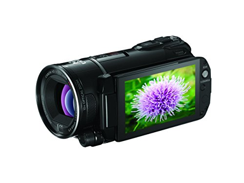 Canon VIXIA HF S200 Full HD Flash Memory Camcorder & Pro Manual Control (Discontinued by Manufacturer) (Renewed) (Canon Sm V1 5-1 Channel Surround Microphone)
