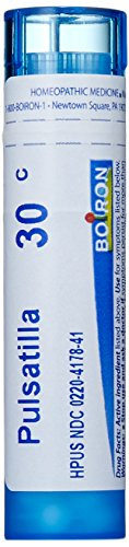 Boiron Homeopathic Medicine Pulsatilla, 30C Pellets, 80 Count Tube