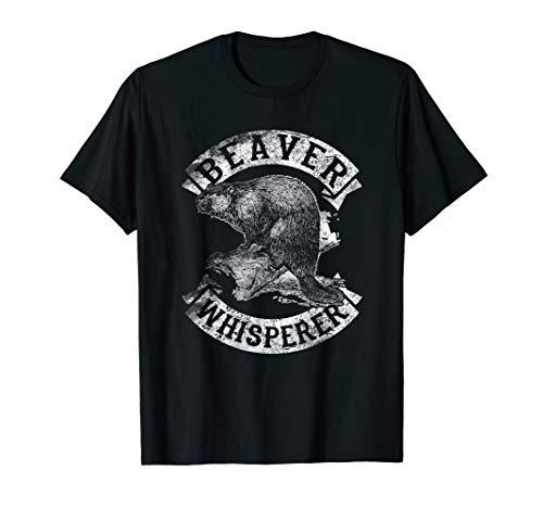 Beaver Whisperer Spirit Animal Funny TShirt Love Beavers Tee]()