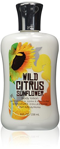 Bath and Body Works Wild Citrus Sunflower 8.0 oz Body Lotion