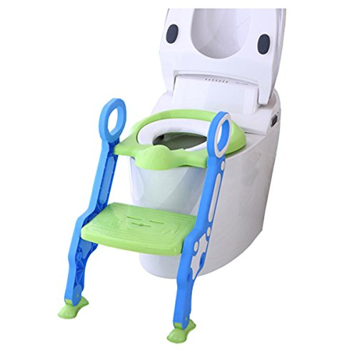 Potty Training Ladder Chair Green product image
