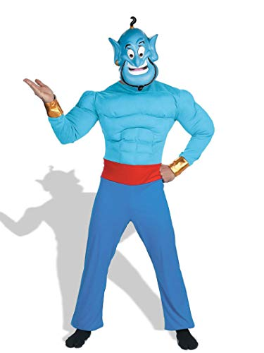 Aladdin - Genie Adult Muscle Chest