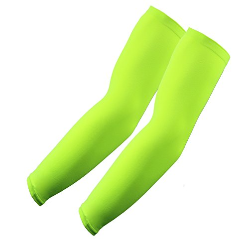 1 Pair Sleeves Neon Green