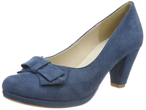 Andrea Conti Women's 1005718 Closed Toe Heels Blue (Jeans 274) buy cheap new arrival ZRada