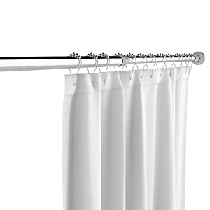 Stainless Steel Tension Shower Curtain Rod By The C H O Easily Adjusts Between 45
