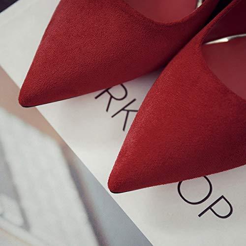 Autunno Da Meiren Stiletto Donne Sposa Alto Scarpe Tacco 36 Sexy Principessa qq40zwR