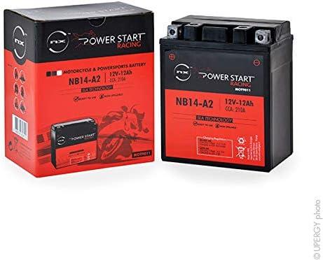 YB14A-A1// YB14-B2 NX NB14-A2 12V 12Ah Motorrad Batterie YB14-A2