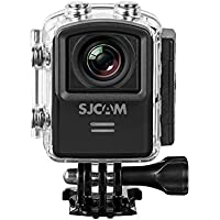 SJCAM M20 16MP Gyro Action Camera, 2 LCD Screen, 2K, 1080p at 60fps, Black