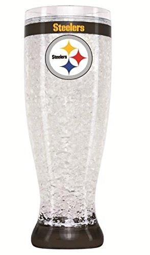 NFL Pittsburgh Steelers Flared Pilsner (Pittsburgh Steelers 16 Oz Crystal)