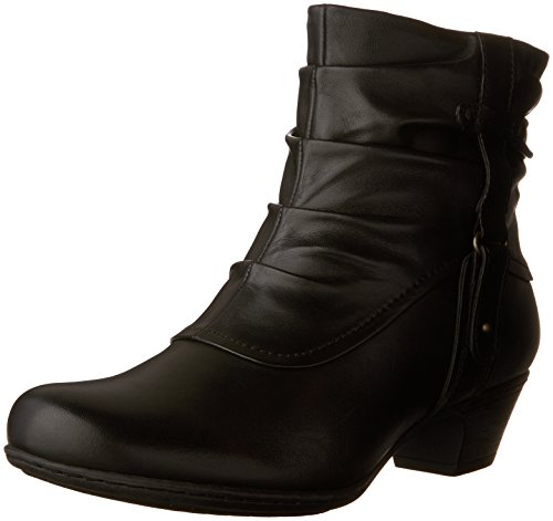 Rockport Cobb Hill Women's Alexandra Boot, Black, 10 W US