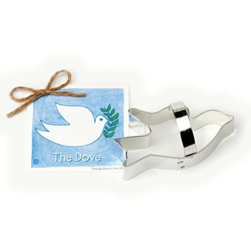 Dove Cookie and Fondant Cutter - Ann Clark - 4.8 Inches - US Tin Plated Steel