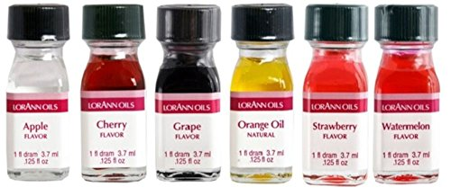 Lorann Oils Fruit Flavor (Pack of 6) - Apple Strawberry Candy Shopping Results