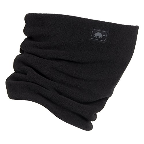 Turtle Fur Neck Gator - Turtle Fur - Double-Layer Neck Warmer, Chelonia 150 Fleece, Black