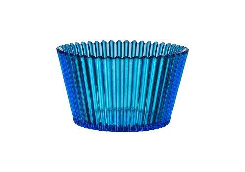 - Kosta Boda Cupcake Bowl, 4 by 7-Inch, Blue