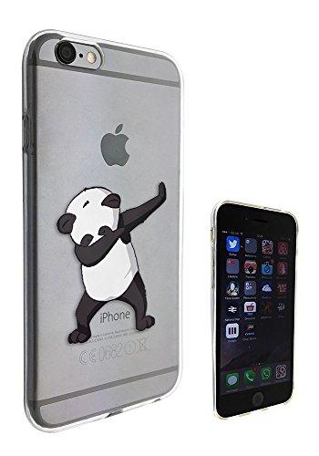 c01419 - Panda DAB Dance Move Rap RnB Design iphone 6 Plus / 6S plus 5.5'' Fashion Trend Silikon Hülle Schutzhülle Schutzcase Gel Rubber Silicone Hülle