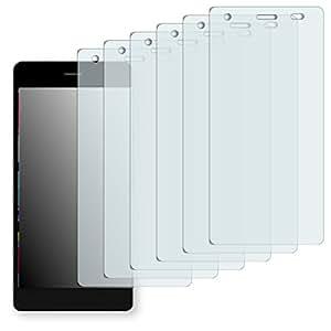 "6 x protectores pantalla Golebo para Archos Diamond S. Lámina protectora adhesiva invisible ""Crystal Clear"". Fabricado en Alemania."