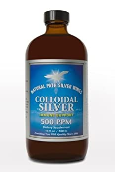 Natural Path Silver Wings Dietary Mineral Supplement, Colloidal Silver, 500 PPM (16oz)